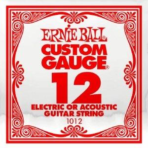 Pojedyncza struna bez owijki ERNIE BALL Slinky 012