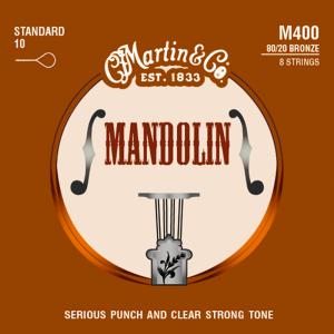 Struny do mandoliny MARTIN M400 (10-34)