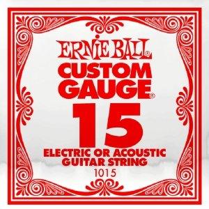 Pojedyncza struna bez owijki ERNIE BALL Slinky 015