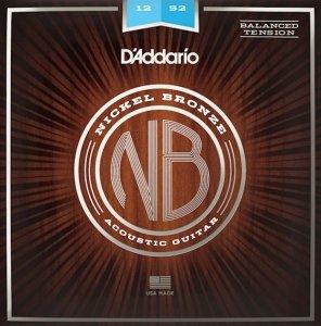 Struny D'ADDARIO Nickel Bronze NB1252BT (12-52)