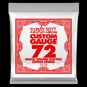 Pojedyncza struna ERNIE BALL Nickel Slinky 072w