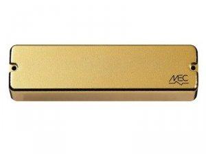 Aktywny przetwornik MEC M 60206 split coil Soapbar 6-strun, złoty