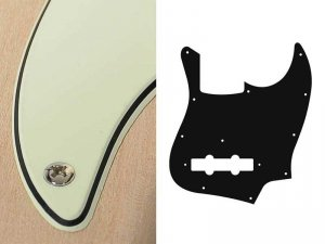 Pickguard BOSTON 62 J.Bass 3 warstwowy (MG)