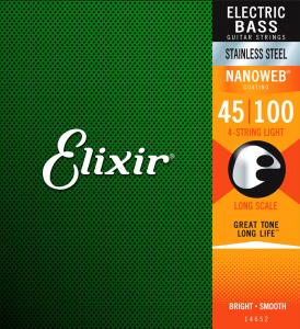 Struny do basu ELIXIR Stainless Steel (45-100)