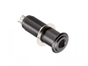 Cylindryczne gniazdo jack stereo HOSCO EP-108 (BK)