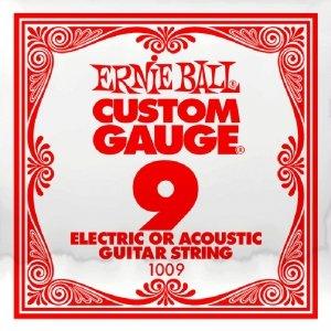 Pojedyncza struna bez owijki ERNIE BALL Slinky 009