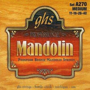 Struny do mandoliny GHS A 270 Medium (11-40)