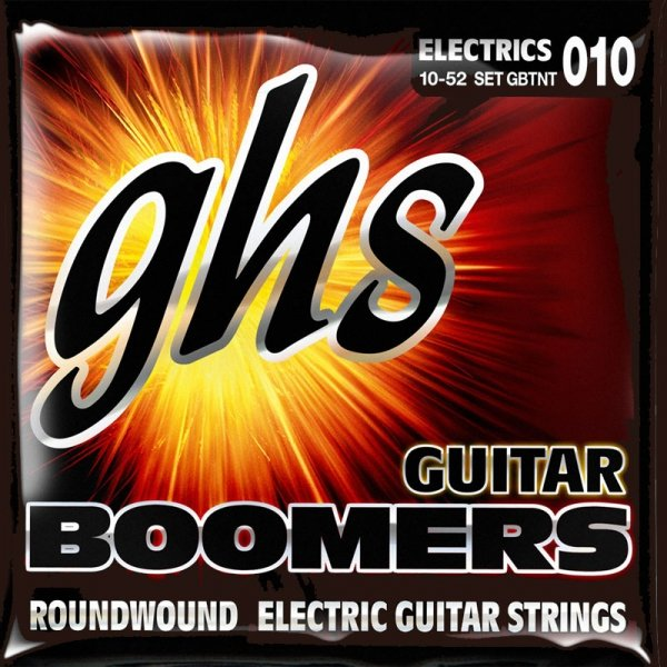 Struny GHS Boomers Roundwound (10-52)