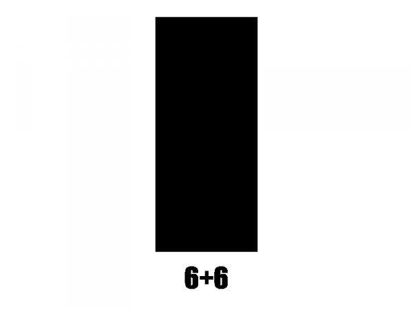 Klucze do gitary GROVER Mid-Size Roto 305 (BC,6+6)