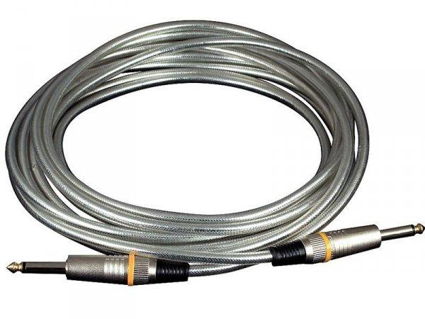 Kabel instrumentalny RockCable 5m RCL 30205 D6 SIL