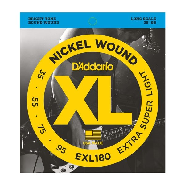 Struny D'ADDARIO XL Nickel Wound EXL180 (35-95)