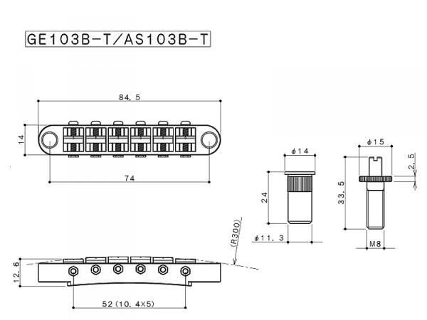 Mostek GOTOH GE103B-T (N)
