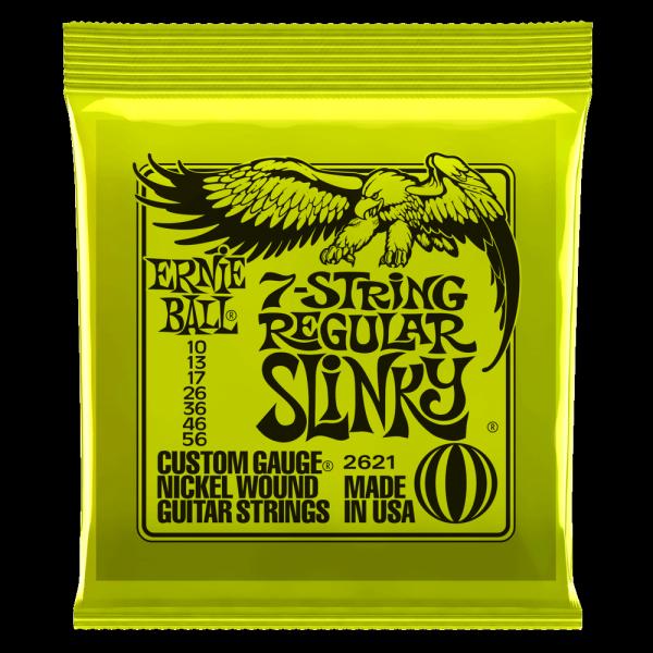 Struny ERNIE BALL 2621 Nickel Slinky (10-56) 7str.