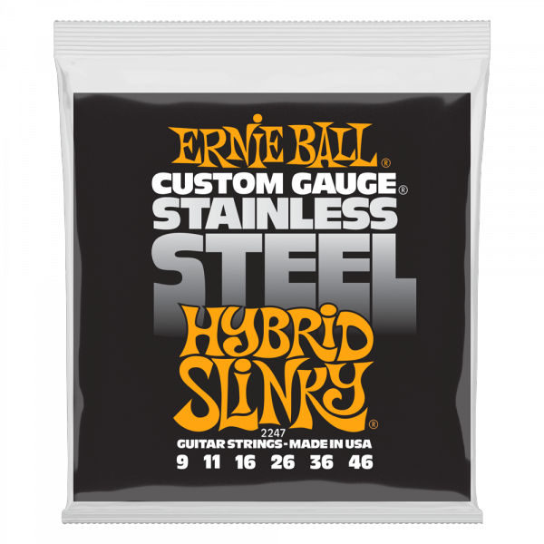 Struny ERNIE BALL 2247 Stainless Steel (9-46)