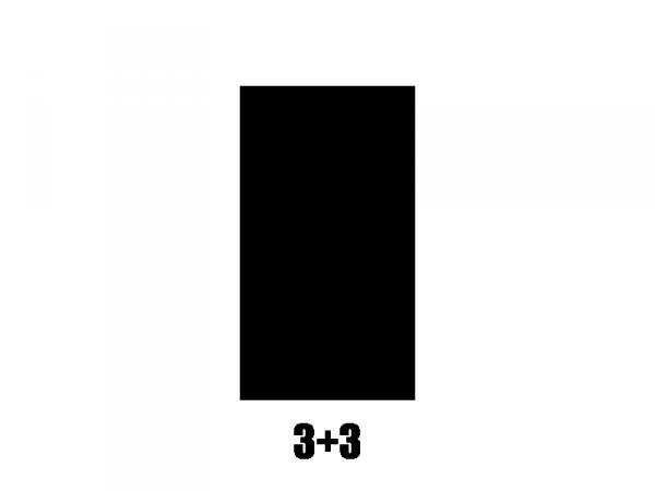 Klucze do gitary GROVER  STA-TITE V97-18 (GD, 3+3)