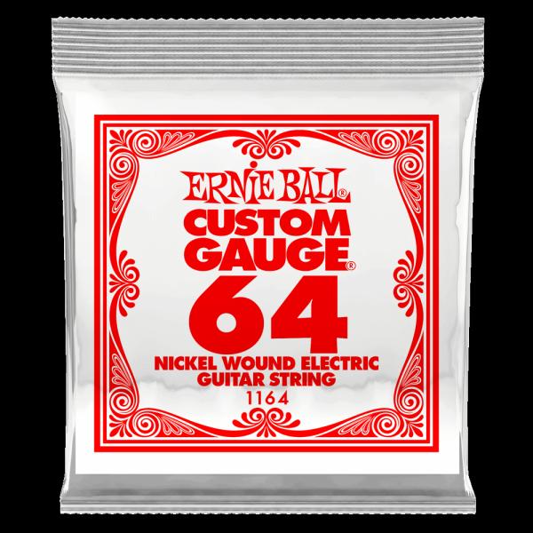 Pojedyncza struna ERNIE BALL Nickel Slinky 064w