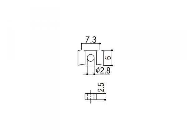 Docisk strun GOTOH RG105 (CR)