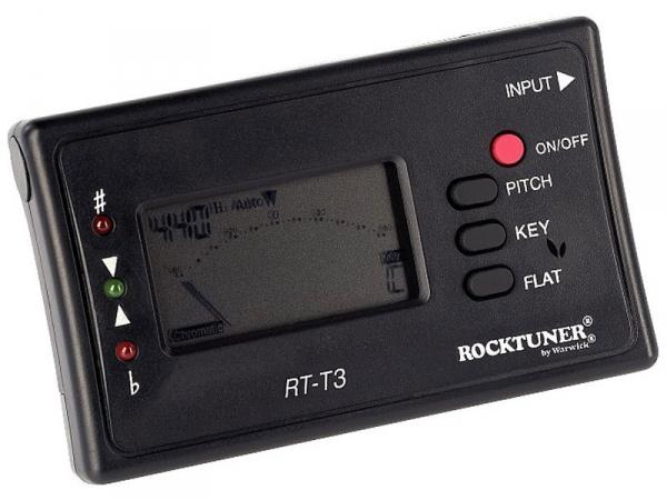 Tuner chromatyczny ROCKTUNER T3