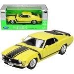 Welly Samochód Ford Mustang Boss 302 1970, żółty
