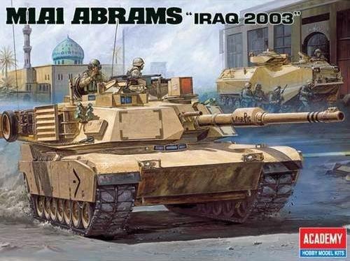 Academy M1A1 Abrams 'Iraq 2003'
