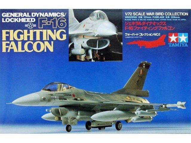 Tamiya TAMIYA F-16 Fighting Fal con