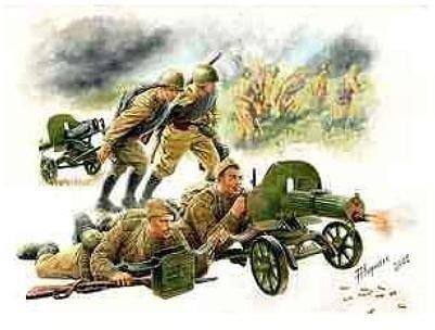 Zvezda Soviet machineguns with Crew