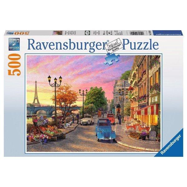 Ravensburger RAVEN. 500 EL Paryż wiec zorową porą