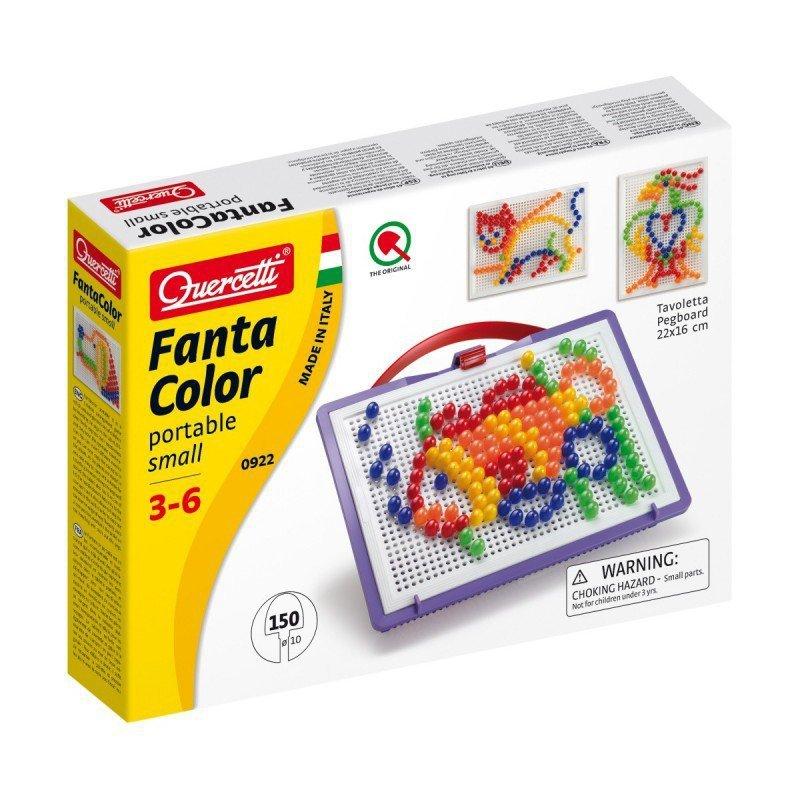 Quercetti Fantacolor mozaika 10 mm 150 kołeczków