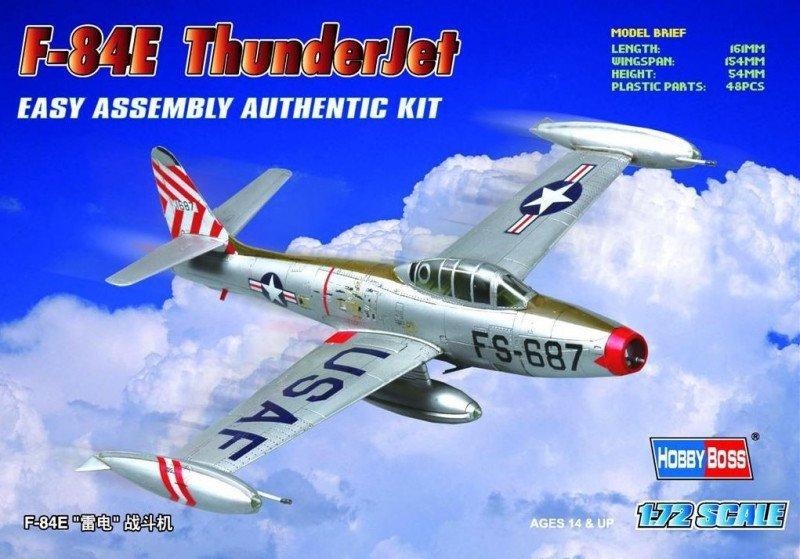 Model plastikowy F-84E Thunderjet