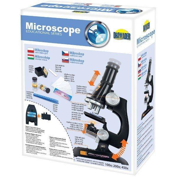 Mikroskop 100, 200, 450 x