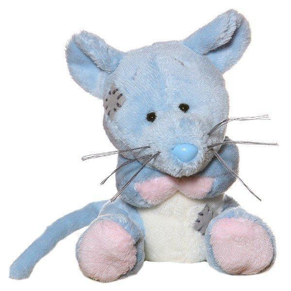 Niebieski Nosek Mysz Polna