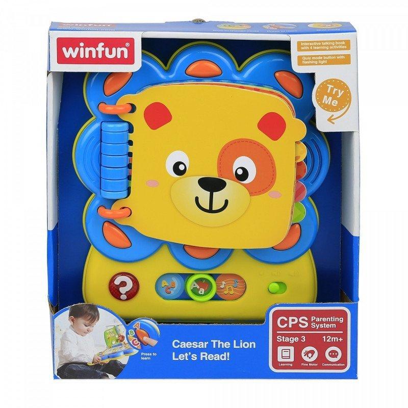 Smily Play Winfun Lwie zagadki zabawka interaktywna