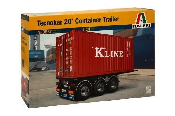 Italeri Tecnokar 20 container trailer