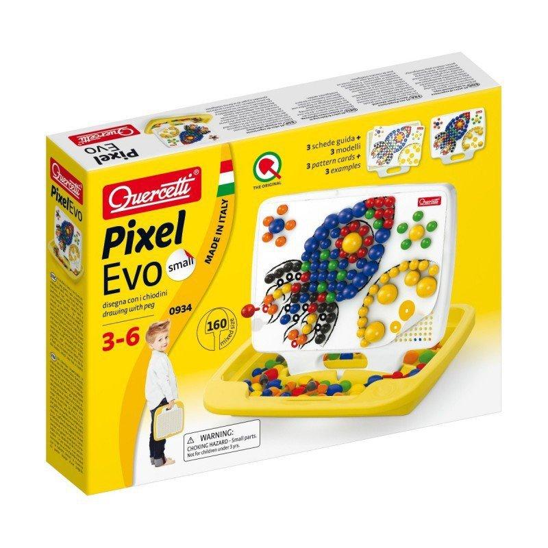 Quercetti Mozaika Pixel Evo Palette Small 160 elementów
