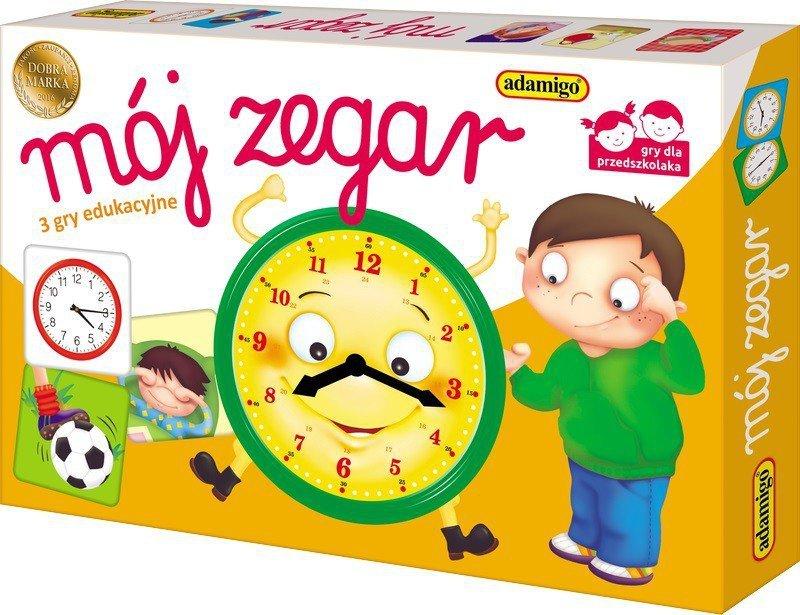 Adamigo Mój zegar - loteryjka edukacyjna