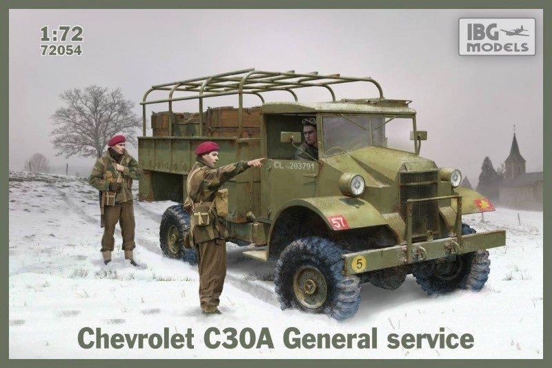 Ibg Chevrolet C30A General service