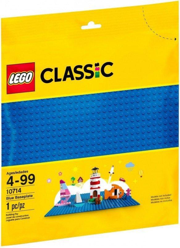 LEGO Klocki Classic 10714 Niebieska płytka konstrukcyjna