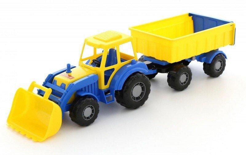 WADER-POLESIE Pojazd Altaj Traktor z przyczepą i łyżką