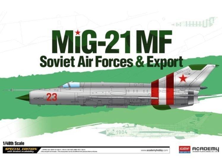 Academy MiG-21MF Soviet Air Force&Export