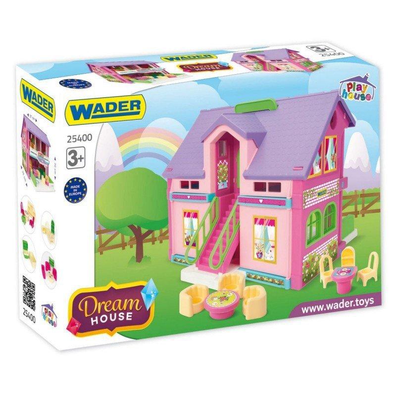 Wader Domek dla lalek 37 cm Play House pudełko