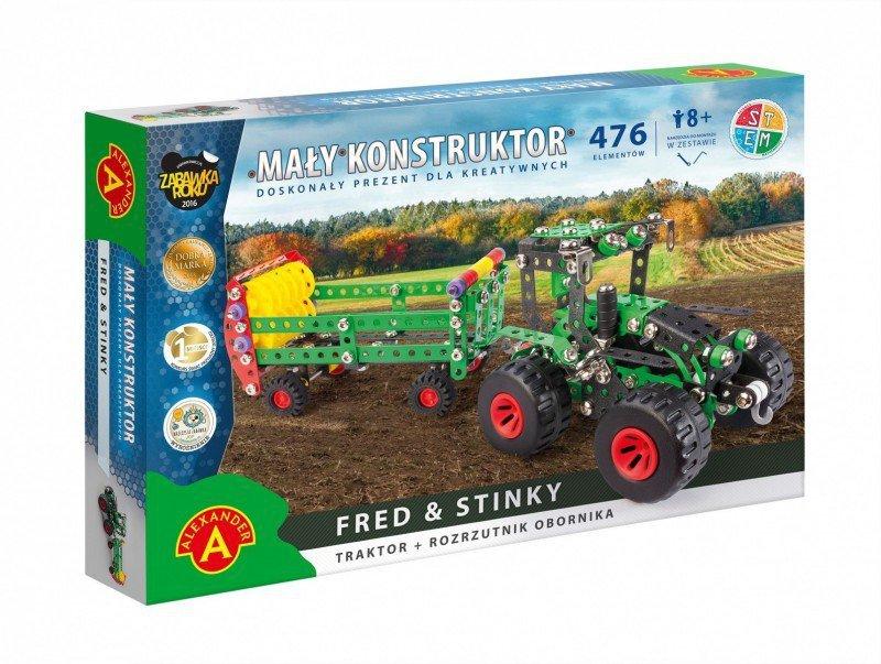 Alexander Zestaw konstrukcyjny Mały Konstruktor Maszyn Rolnych - Fred & Stinky
