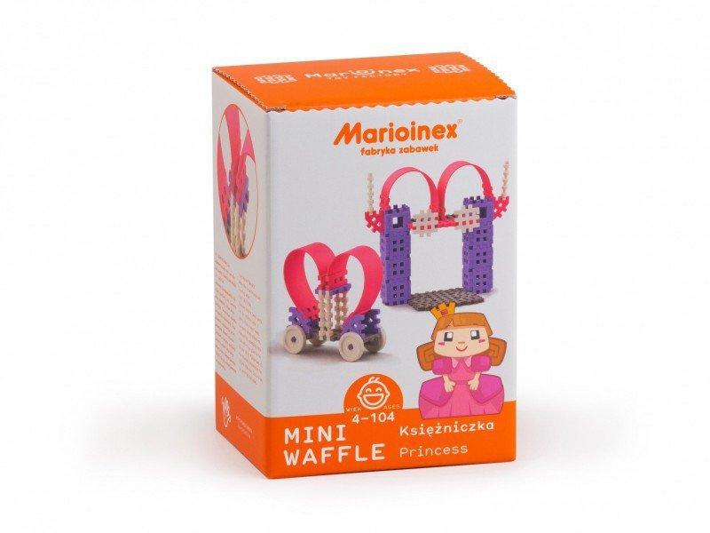 Marioinex Klocki konstrukcyjne Mini Wafle Księżniczka Zestaw Średni