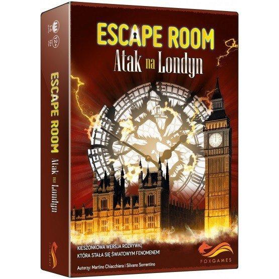 Foxgames Gra Escape Room: Atak na Londyn