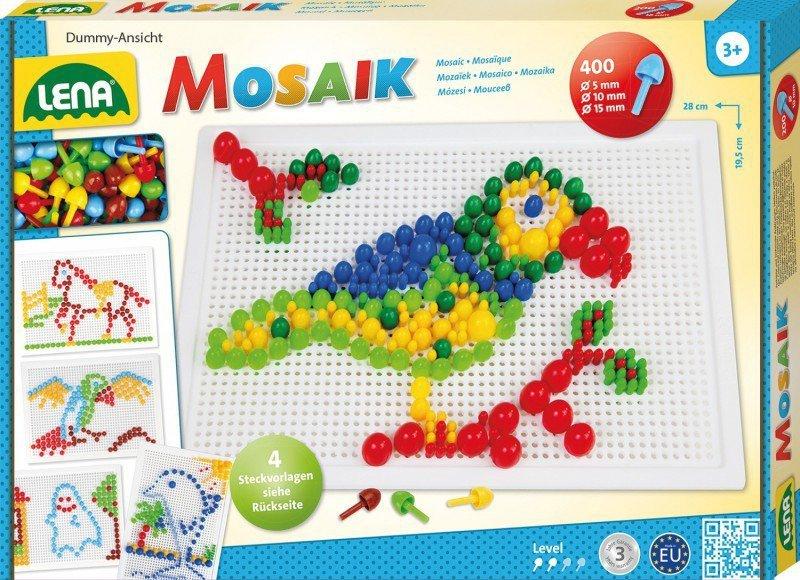 Lena Mozaika zestaw 400 elementów Mix