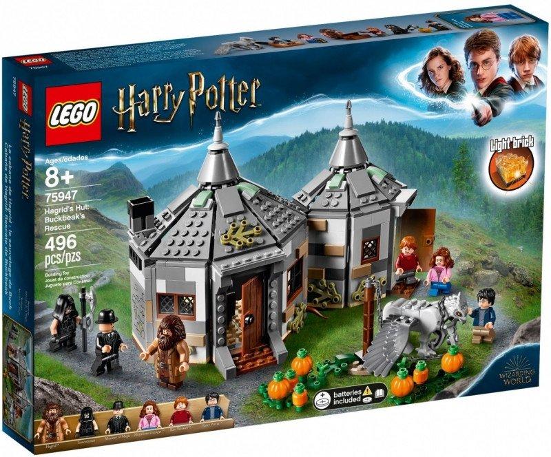 LEGO Klocki Harry Potter Chatka Hagrida: na ratunek Hardodziobowi