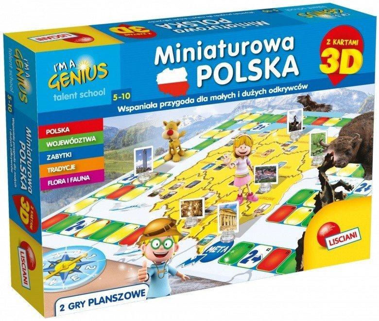 Gra Im A Genius - Miniaturowa Polska 3D