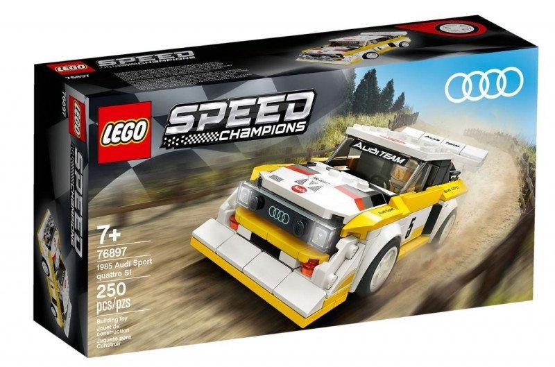 LEGO Polska Klocki Speed Champions 198 5 Audi Sport quattro S1