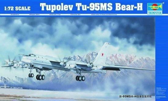 Trumpeter TRUMPETER Tupolev TU-95 MS Baer-H