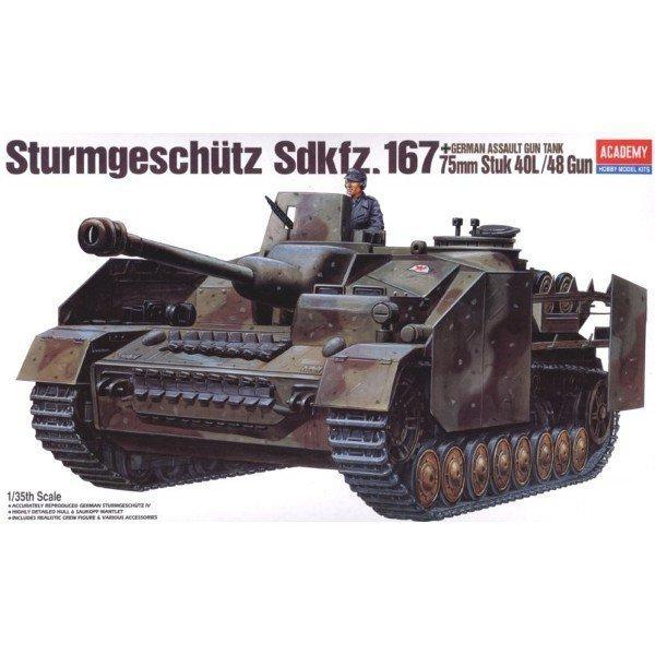 ACADEMY Sturmgeschutz Sd .Kfz.167 + 75mm