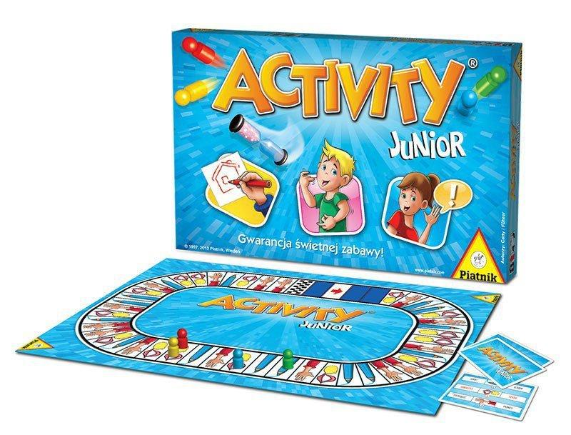Piatnik Gra Activity Junior